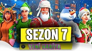 Season 7: NEW MAP EXPLAINED/I PROVE/SNOW ZONE-Fortnite Turkish