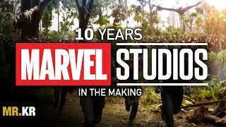 Avengers: Infinity War - 10 Years in the Making (Tribute)