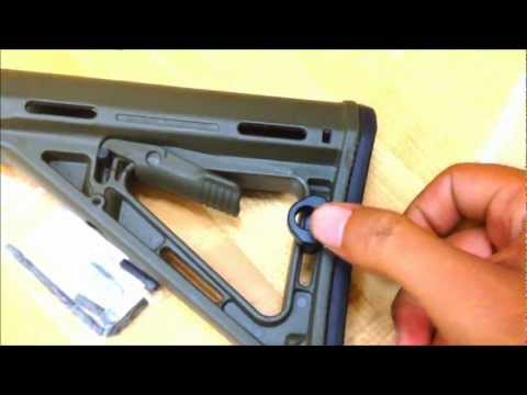 IWC Mount N' Slot Sling Attachment for Magpul MOE Butt Stock