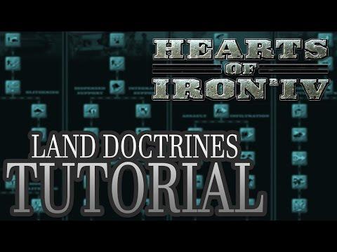 Land Doctrines - Beginner Tutorial - Hearts of Iron IV HOI4