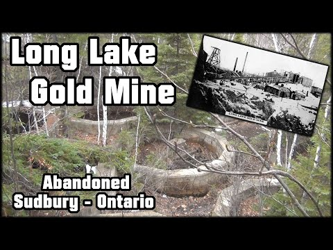 Exploring History THE LONG LAKE GOLD MINE! - Sudbury Ontario [ Part 1 ]