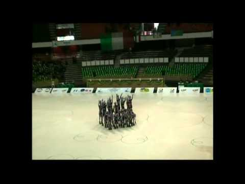 "SUPERNOVA SHOW GROUP (ARG) - ""Dancing Waters"" - Brasilia World Figure Skating Championship 2011"