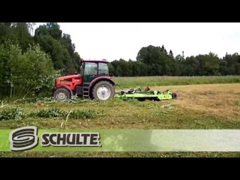 Schulte FX-315 Cutting Brush and Trees in Russia