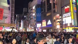 【ハロウィン(^^)】渋谷スクランブル交差点など!/ Halloween in Shibuya of Tokyo,Japan