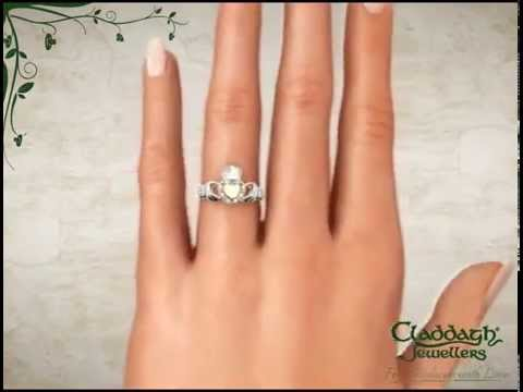 Expensive ring for newlyweds Irish engagement ring finger