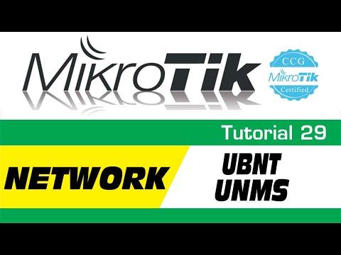 MikroTik Tutorial 29 - UBNT PowerBeam Network - UNMS
