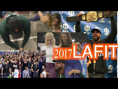 WATCH IF YOU DIDN'T GO TO THE LA FIT EXPO
