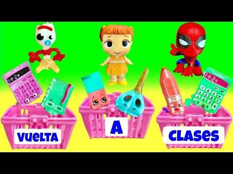 Toy Story 4:  Forky, Bo Peep y Gabby Gabby van de Compras para la Vuelta a Clases