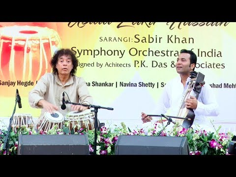 Juhu Vision Plan (Kishore Kumar Baug) | Performance | Ustad Zakir Hussain, Sabir Khan
