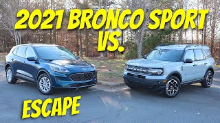 2021 Ford Bronco Sport vs Ford Escape | The Same SUV?