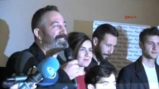 Cem Yılmaz, 'İftarlık Gazoz'un Konya özel gösterimine katıldı