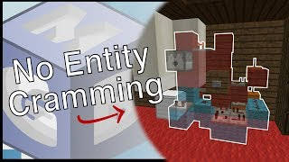 Entity Cramming Proof: Skeleton XP Farm [1.11+] | Minecraft Redstone Tutorial
