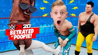 Little Flash Betrayed! WWE 2k20 Career Mode Part 3! K-CITY GAMING