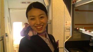Download Video Charming Japanese stewardess smile - Обаятельная японская стюардесса MP3 3GP MP4
