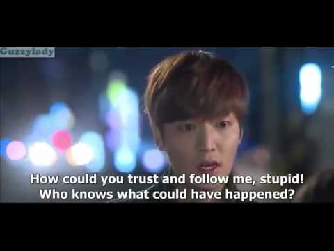 The heirs cute love scene