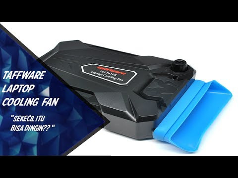 Review Taffware Ice Fan Laptop Cooling Fan Indonesia Youtube