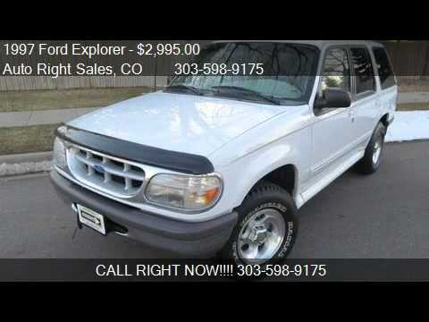 1997 Ford Explorer XLT 4-Door 4WD - for sale in Commerce City, CO 80022