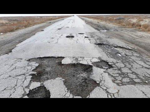 Дорога Астрахань-Атырау