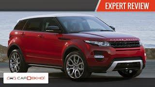 Range Rover Evoque | Expert Review | CarDekho.com