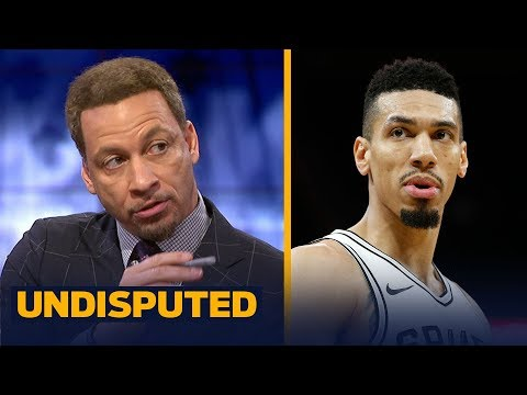 Chris Broussard reacts to Danny Green's groin tear the Spurs didn't catch | NBA | UNDISPUTED