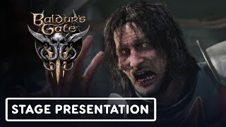 Baldur's Gate 3 Full Stage Presentation - E3 2019