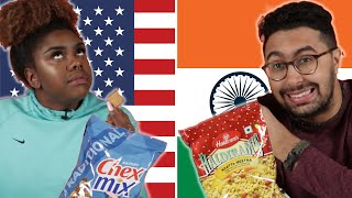 Americans & Indians Swap Snacks