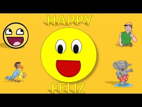 Thumbnail: Feelings For Children in English & Spanish Song, Emociones Estados de Animo Para Niños
