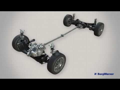 Haldex Gen V all-wheel drive system