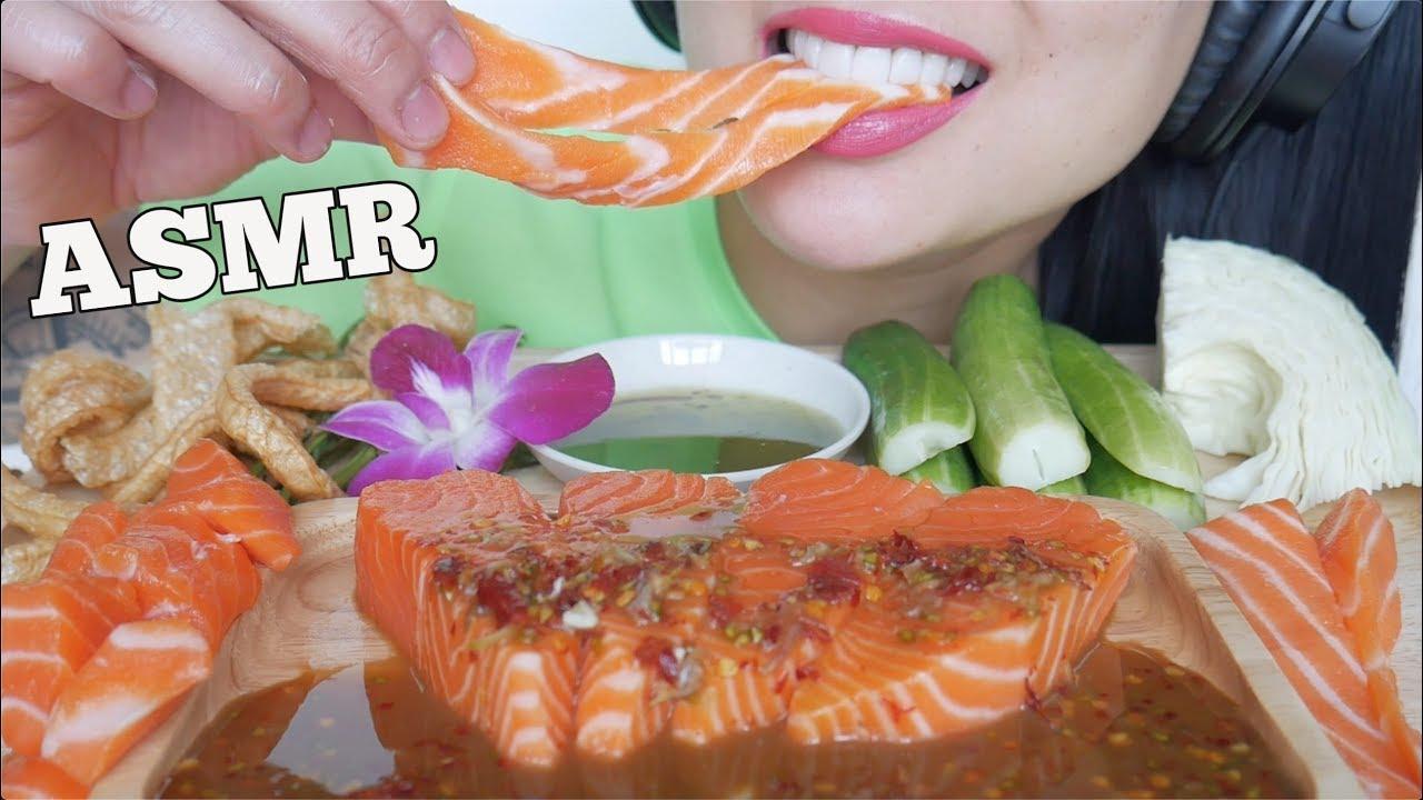 Asmr Salmon Sashimi Spicy Dipping Sauce Eating Sounds No Talking Sas Asmr Youtube moona asmr triggers para dormir moona😴/ for sleep / асмр триггеры для сна. asmr salmon sashimi spicy dipping sauce eating sounds no talking sas asmr