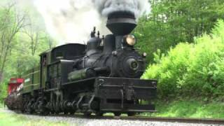 Geared Steam Locomotives in Cass WV