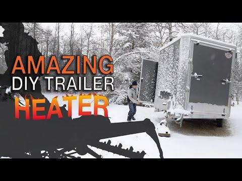 DIY Trailer Heater That Works Great!