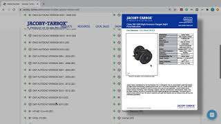 Jacoby Tarbox® Online Model Builder DEMO, Created in Partnership with CADENAS PARTsolutions
