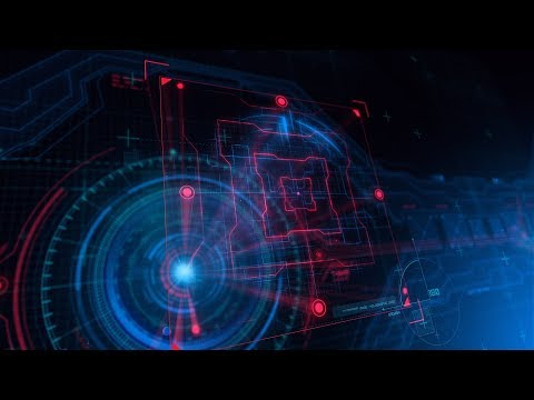 Free After Effects Intro Template #111 : Holographic Logo Intro Template for AE