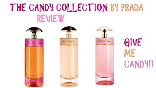 PERFUME COLLECTION 2016 REVIEW: THE CANDY COLLECTION BY PRADA