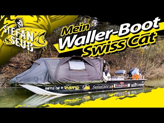Mein Angelboot   Unsinkbar!!!   Swiss Cat für ein Leben auf dem Wasser