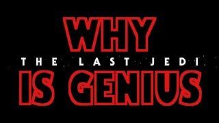 WHY THE LAST JEDI IS GENIUS - Book Shelf Movie Reviews