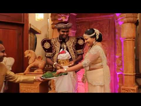 Poruwa Ceremony - Subasiri Wedding Center
