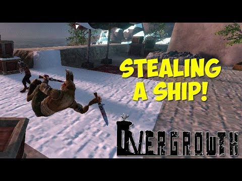 STEALING A SHIP! - Overgrowth Full Release Gameplay - Insane Flips & Knife Tricks!