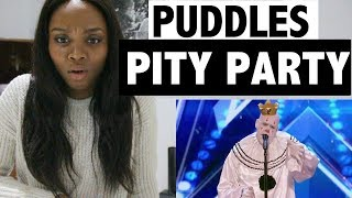 America's Got Talent 2017 - Puddles Pity Party - Reaction!