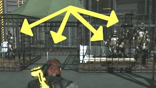 MGSV: Phantom Pain - All Cages Filled (Quarantine Platform) Metal Gear Solid 5