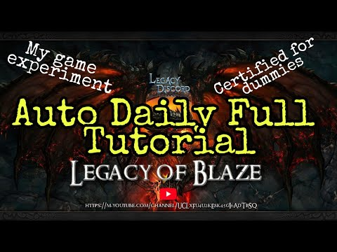 Auto Daily Full Tutorial - Legacy Of Discord
