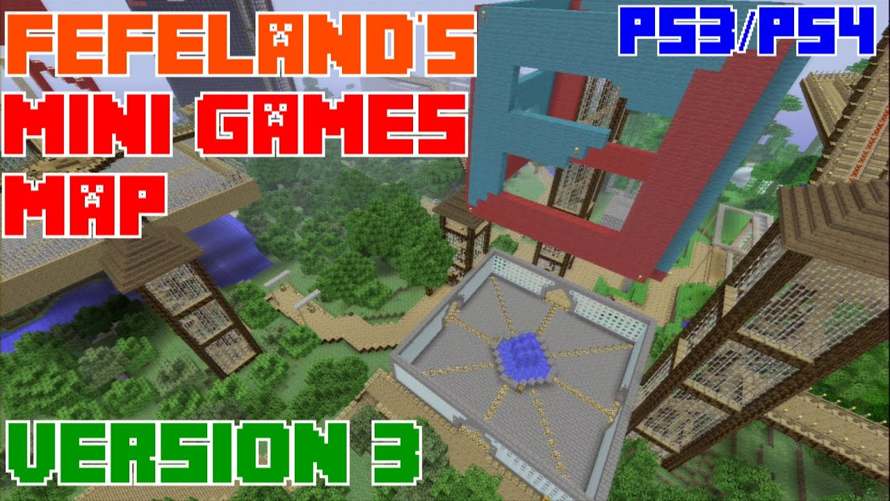 Minecraft Mini Games For Ps Bollaco - Minecraft ps4 minispiele