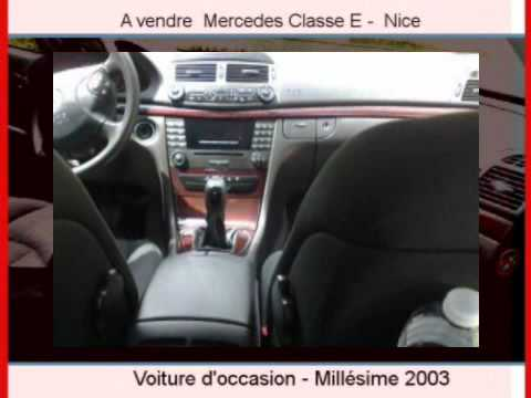 achat vente une voiture occasion mercedes classe e nice youtube. Black Bedroom Furniture Sets. Home Design Ideas