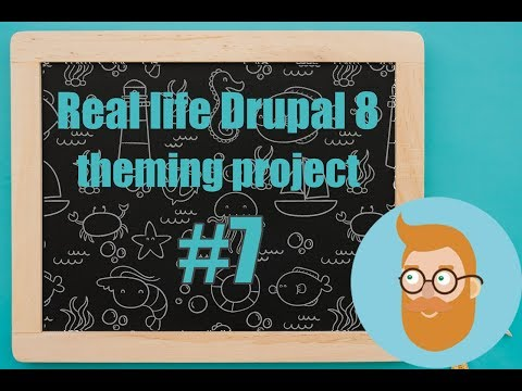 Overwriting template files in our theme ? Real life Drupal 8 theming project 7# thumbnail