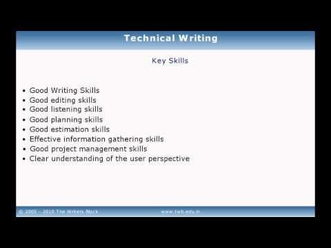 TWB Video Tutorial - Technical Writing