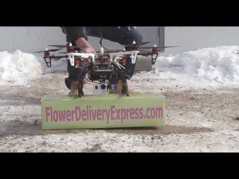 Flower Delivery Express - Delivers Flowers By Drone