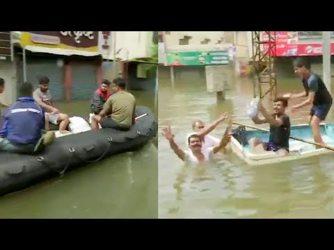 Watch: NDRF conducts relief & rescue operation in flood-hit Kolhapur, Sangli