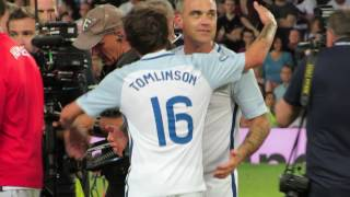 Soccer Aid — Match End (Louis and Niall Hug) + Extras