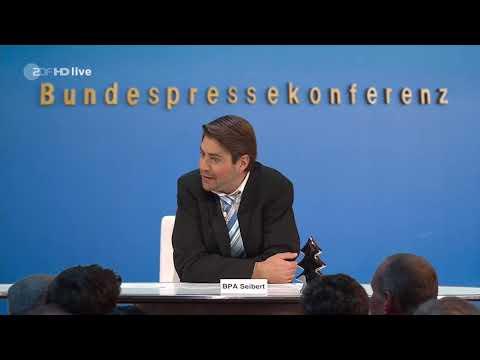 Die Anstalt - BPA Steffen Seibert Parodie