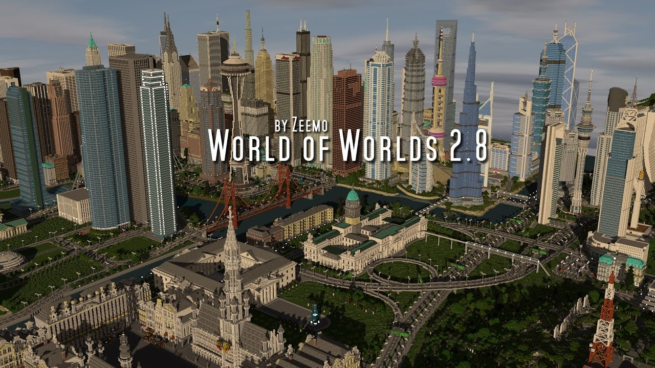 Minecraft | World of Worlds 2.8 - YouTube